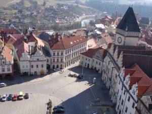 Mjesto Tabor u Čehoslovačkoj