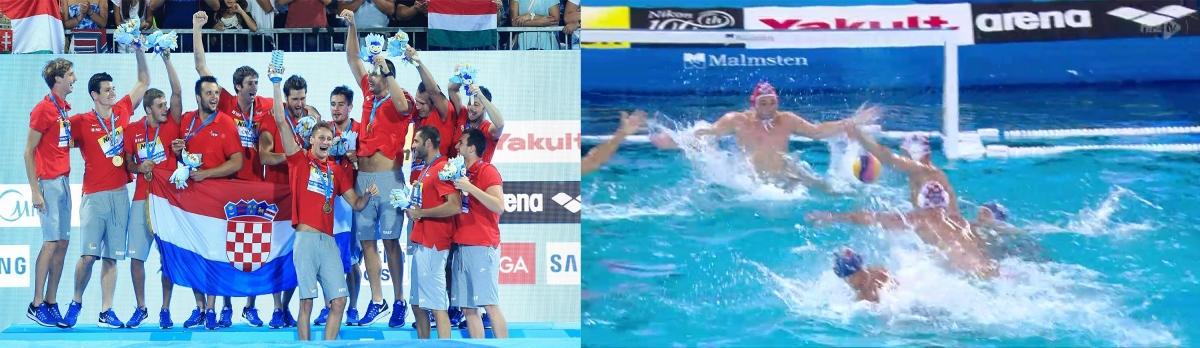 Zlatne barakude i Marcelić na golu na svjetskom prvenstvu