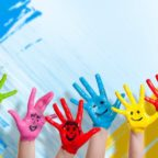 kids-children-hands-colour-wall-smiles-mode-drawing-happiness-children-children-hands-wall-color-smiles-mode-drawing-happiness