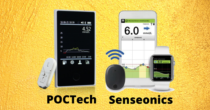 Preslagivanje u svijetu CGM-a: Roche – Senseonics – POCTech – Ascensia
