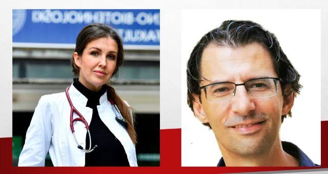 Liječnici Ana Marija Liberati i Darko Kaštelan