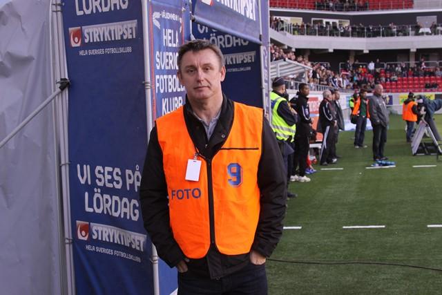 Na nogometnoj utakmici kao fotoreporter